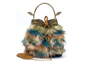 bumblebee ostrich feathers
