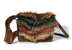 Dragonfly layered fur